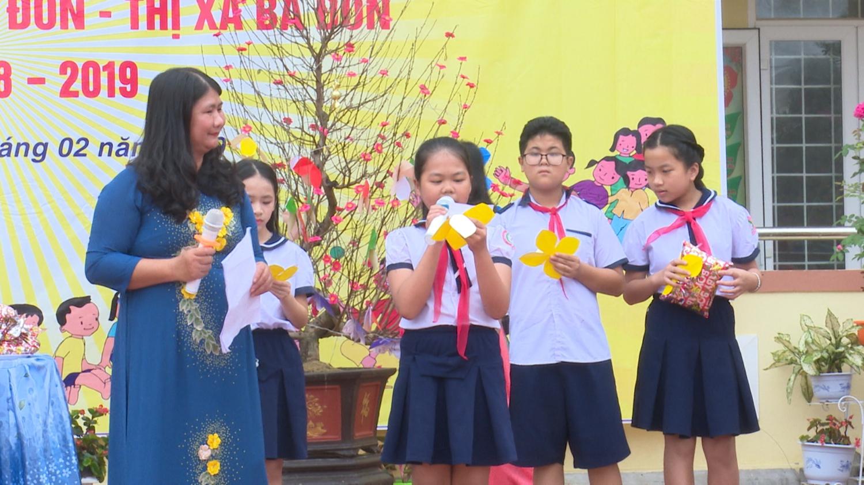 Thị xã Ba Đồn: Náo nức Ngày hội học sinh tiểu học năm học 2018-2019