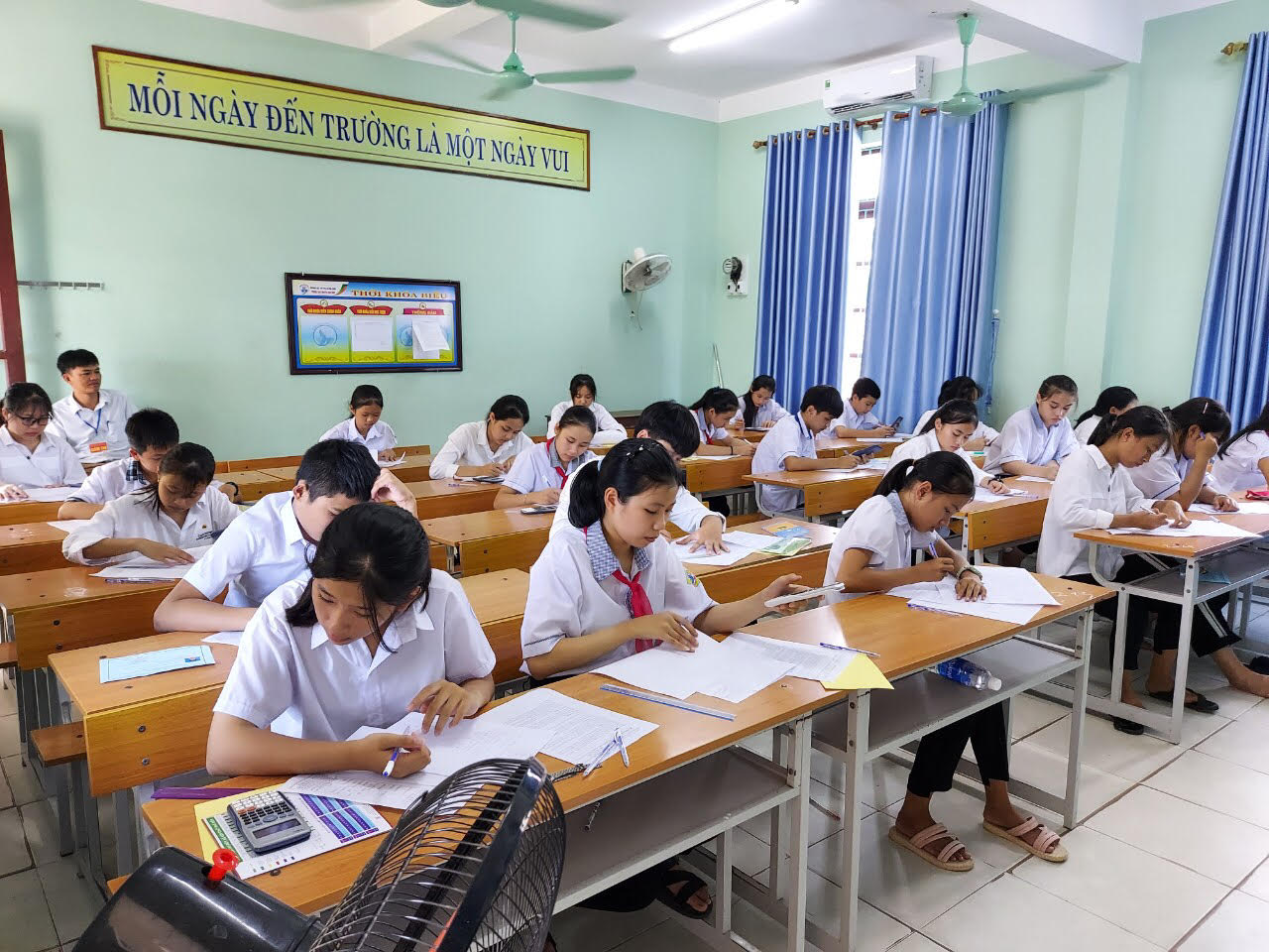 Kết quả thi học sinh giỏi các môn văn hóa NH 2020-2021 cấp thị